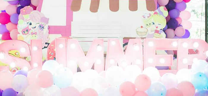 Shopkins Balloon Birthday Party on Kara's Party Ideas | KarasPartyIdeas.com (1)