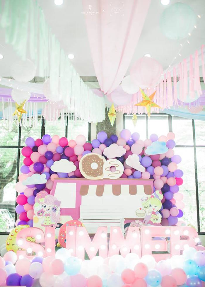 Shopkins Balloon Birthday Party on Kara's Party Ideas | KarasPartyIdeas.com (7)
