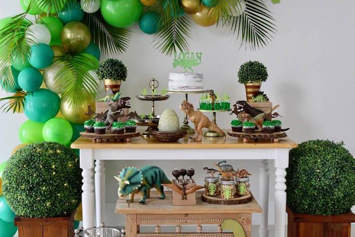 Three-Rex Dinosaur Birthday Party on Kara's Party Ideas | KarasPartyIdeas.com (20)