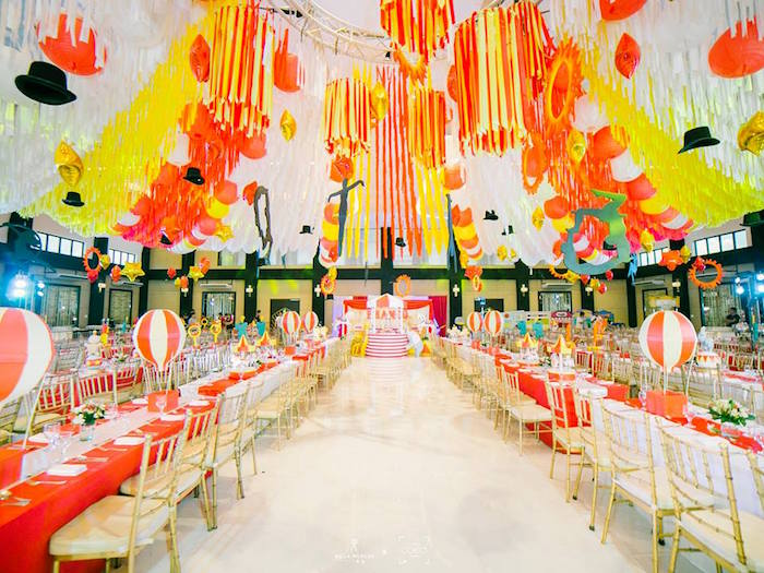 Traditional Circus Birthday Party on Kara's Party Ideas | KarasPartyIdeas.com (20)