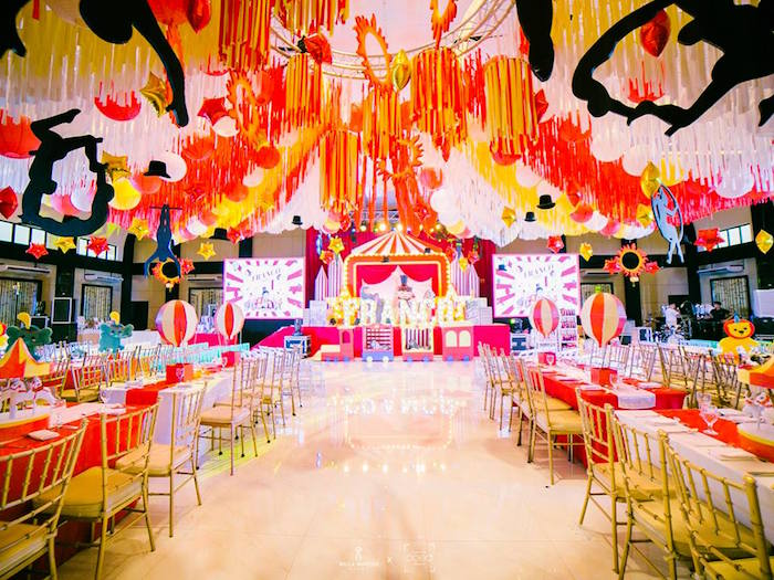 Traditional Circus Birthday Partyscape on Kara's Party Ideas | KarasPartyIdeas.com (17)