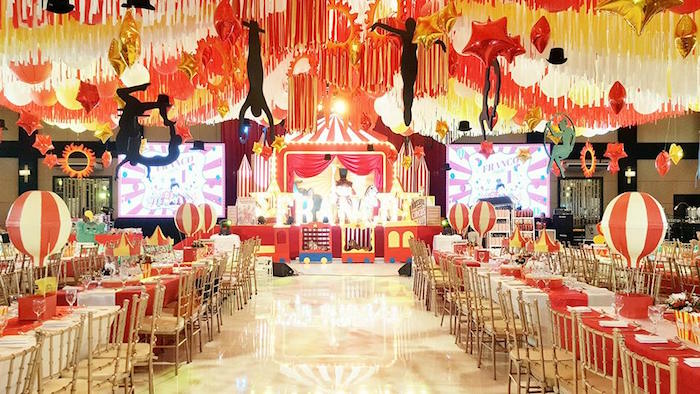 Traditional Circus Birthday Party on Kara's Party Ideas | KarasPartyIdeas.com (31)