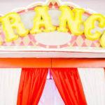 Traditional Circus Birthday Party on Kara's Party Ideas | KarasPartyIdeas.com (1)