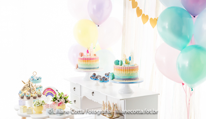 Unicorn Rainbow Art Birthday Party on Kara's Party Ideas | KarasPartyIdeas.com (20)