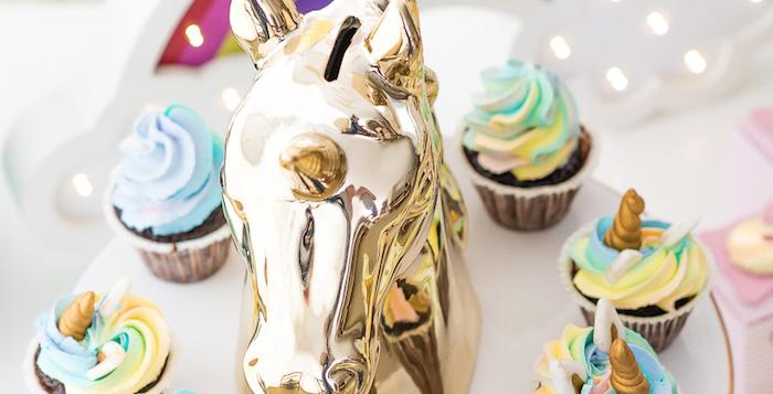 Unicorn Rainbow Art Birthday Party on Kara's Party Ideas | KarasPartyIdeas.com (3)