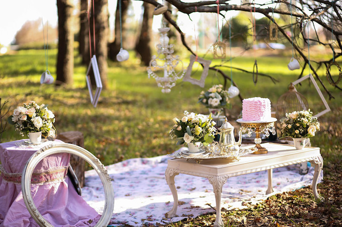 Vintage Alice in Wonderland Inspired Cake Smash on Kara's Party Ideas | KarasPartyIdeas.com (33)