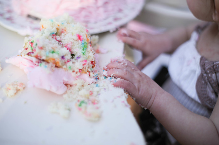 Vintage Alice in Wonderland Inspired Cake Smash on Kara's Party Ideas | KarasPartyIdeas.com (5)