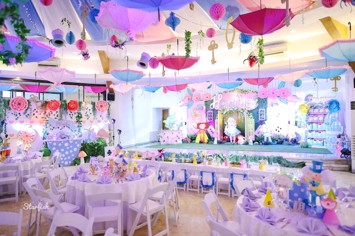 Whimsical Alice in Wonderland Birthday Party on Kara's Party Ideas | KarasPartyIdeas.com (29)