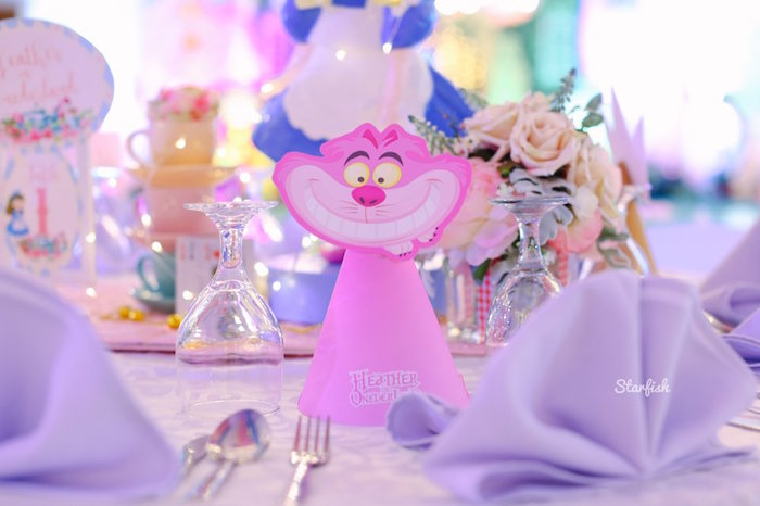 Whimsical Alice in Wonderland Birthday Party on Kara's Party Ideas | KarasPartyIdeas.com (28)