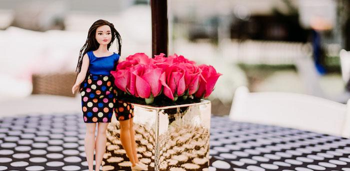 Barbie 5th Birthday Party on Kara's Party Ideas | KarasPartyIdeas.com (1)