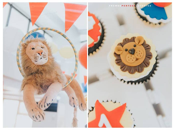 All Things Lion from a Carnival Animal Birthday Party on Kara's Party Ideas | KarasPartyIdeas.com (17)