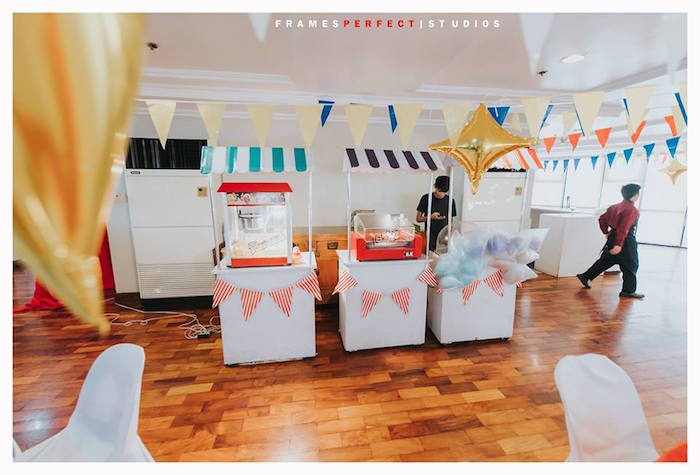 Food + Snack Stands from a Carnival Animal Birthday Party on Kara's Party Ideas | KarasPartyIdeas.com (13)