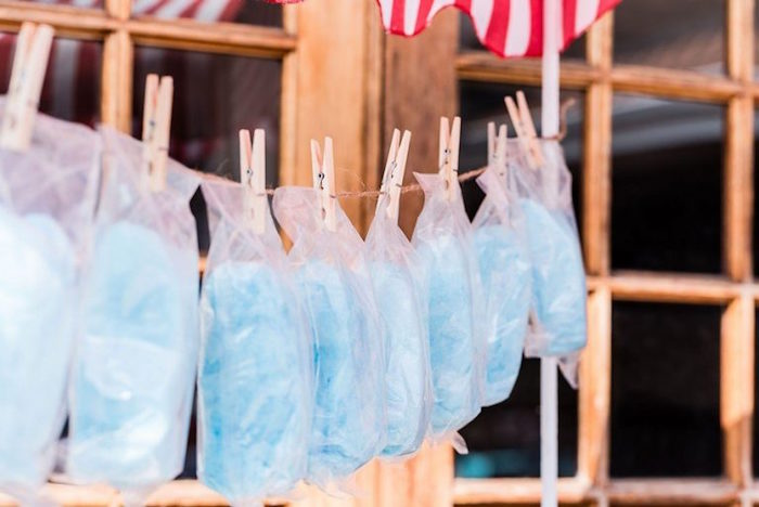 Pinned Cotton Candy from a Circus Carnival Birthday Party on Kara's Party Ideas | KarasPartyIdeas.com (10)