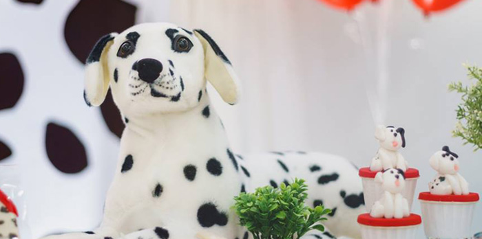 Dalmatian Inspired Puppy Birthday Party on Kara's Party Ideas | KarasPartyIdeas.com (4)