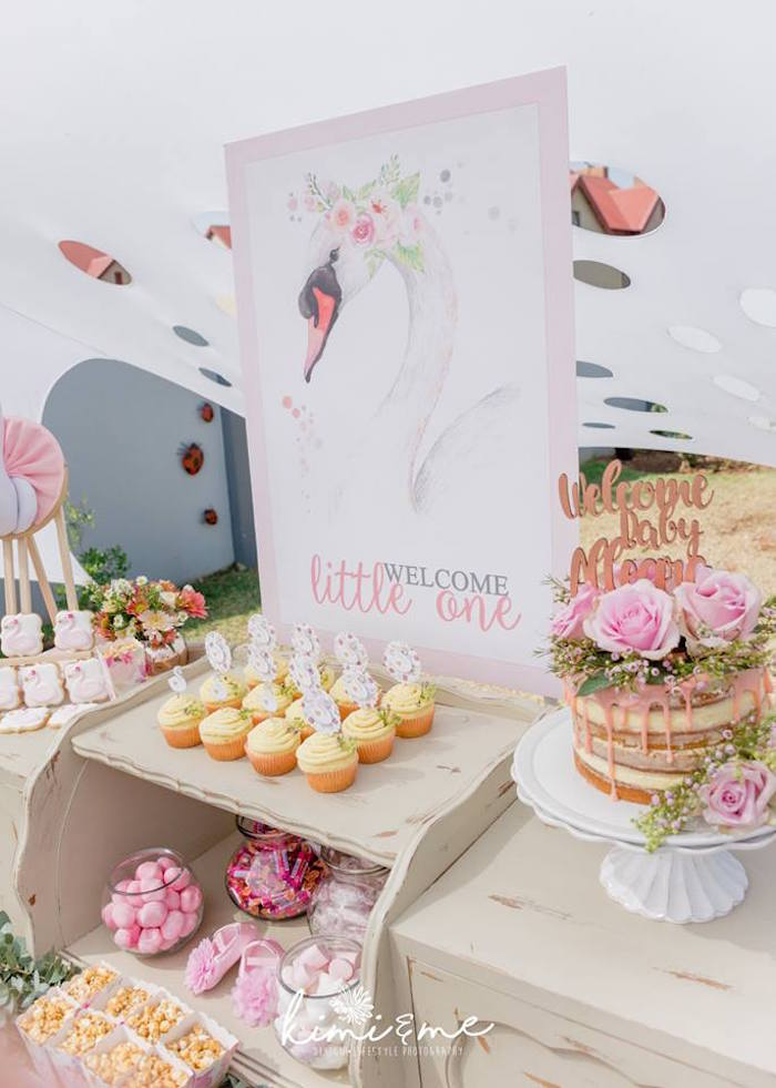 Elegant Swan Baby Shower on Kara's Party Ideas | KarasPartyIdeas.com (31)