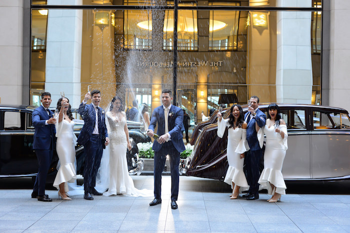 Champagne from a Fairy Tale Wedding on Kara's Party Ideas | KarasPartyIdeas.com (22)