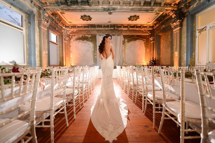 Bride from a Fairy Tale Wedding on Kara's Party Ideas | KarasPartyIdeas.com (19)