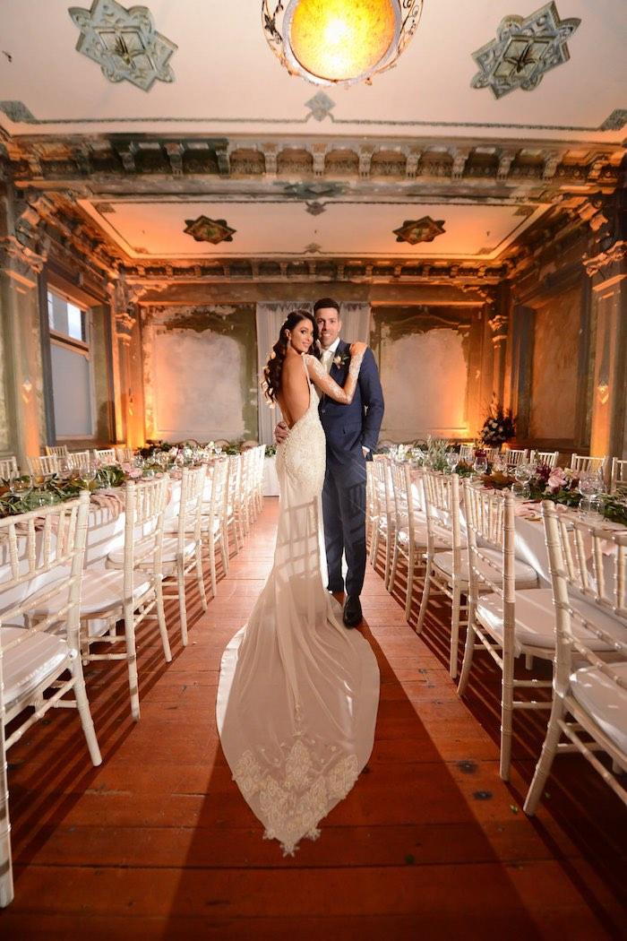 Bride & Groom from a Fairy Tale Wedding on Kara's Party Ideas | KarasPartyIdeas.com (18)
