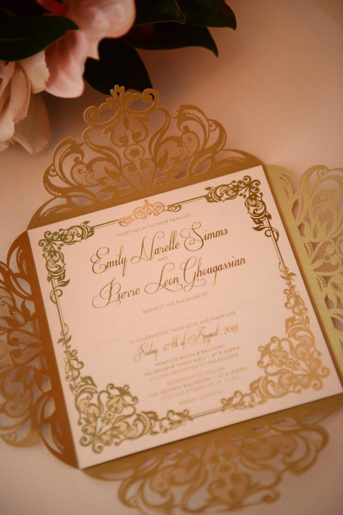 Invitation from a Fairy Tale Wedding on Kara's Party Ideas | KarasPartyIdeas.com (3)