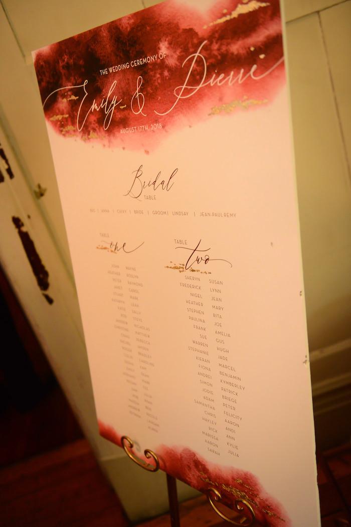 Table Seating from a Fairy Tale Wedding on Kara's Party Ideas | KarasPartyIdeas.com (2)