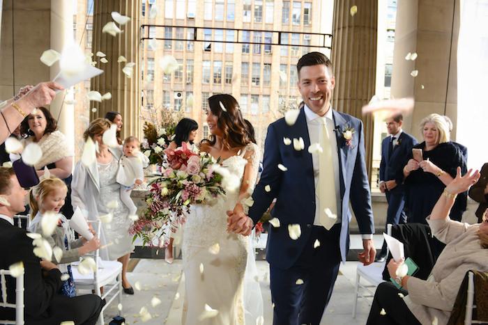 Rose Petal Celebration from a Fairy Tale Wedding on Kara's Party Ideas | KarasPartyIdeas.com (29)