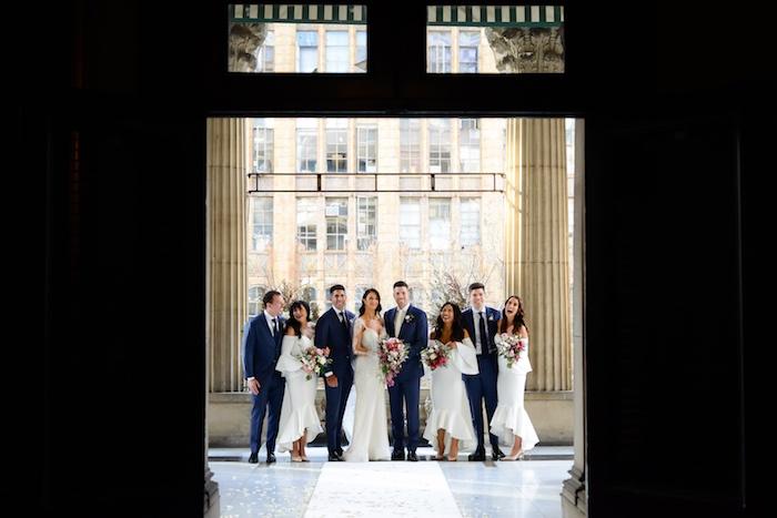 Wedding Party from a Fairy Tale Wedding on Kara's Party Ideas | KarasPartyIdeas.com (27)