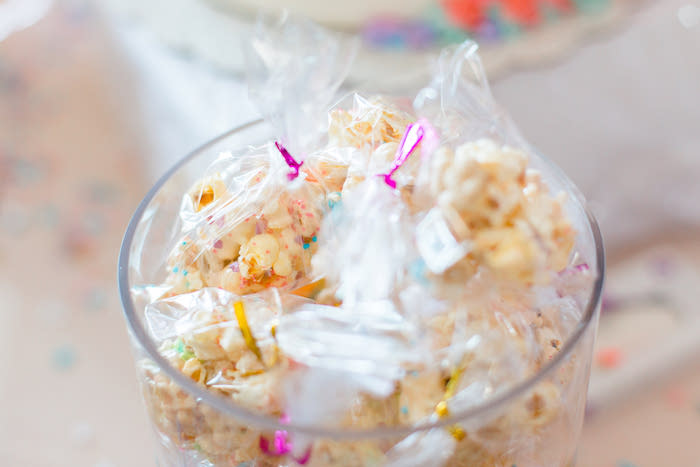 Unicorn Snacks from a Flowers & Unicorns Birthday Party on Kara's Party Ideas | KarasPartyIdeas.com (19)