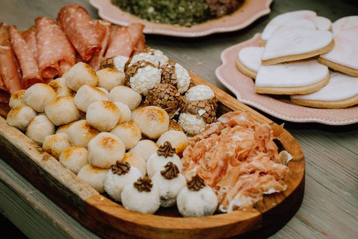 Food Platter from a Glam Floral Baby Shower on Kara's Party Ideas | KarasPartyIdeas.com (20)