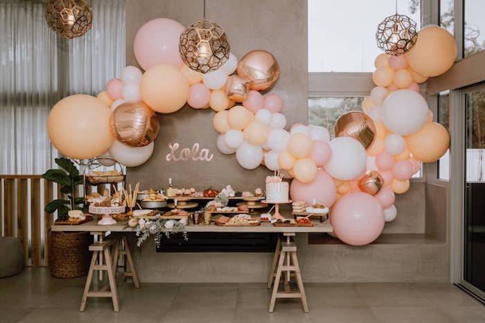 Glam Floral Baby Shower on Kara's Party Ideas | KarasPartyIdeas.com (12)
