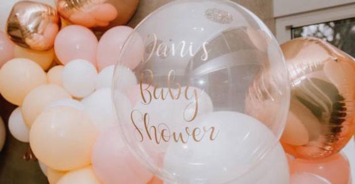 Glam Floral Baby Shower on Kara's Party Ideas | KarasPartyIdeas.com (5)
