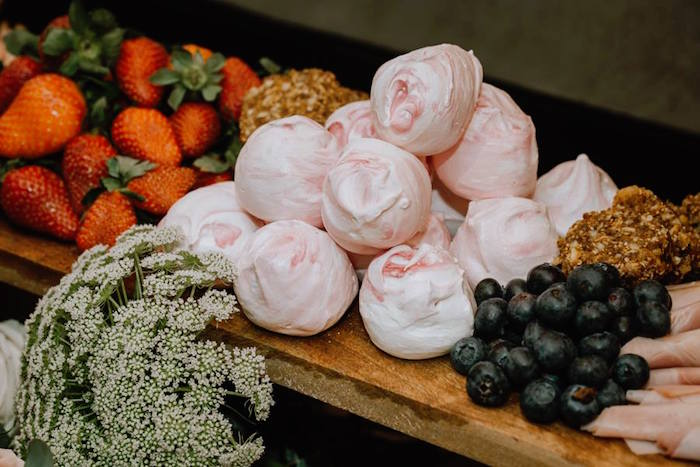 Divinity from a Glam Floral Baby Shower on Kara's Party Ideas | KarasPartyIdeas.com (23)