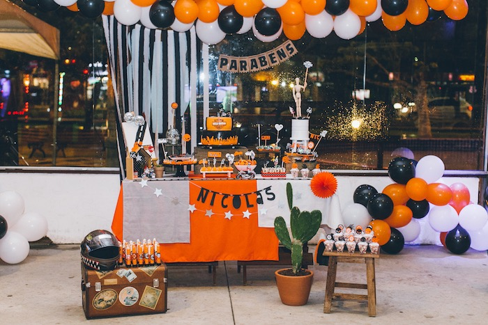 Harley Davidson Party Decorating Ideas Unique Birthday Party Ideas