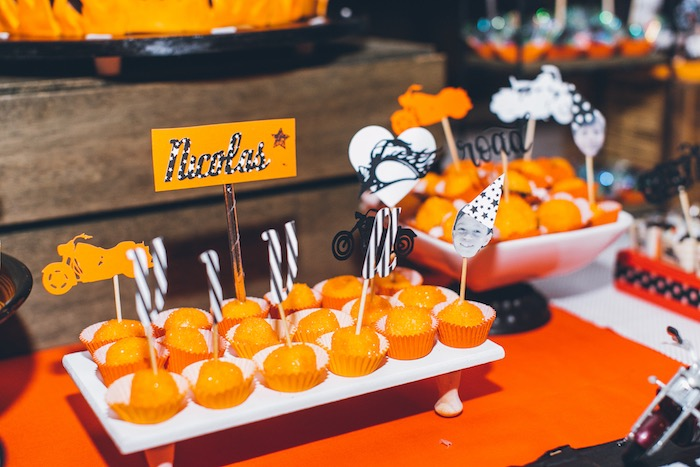 Truffles from a Harley Davidson Birthday Party on Kara's Party Ideas | KarasPartyIdeas.com (19)