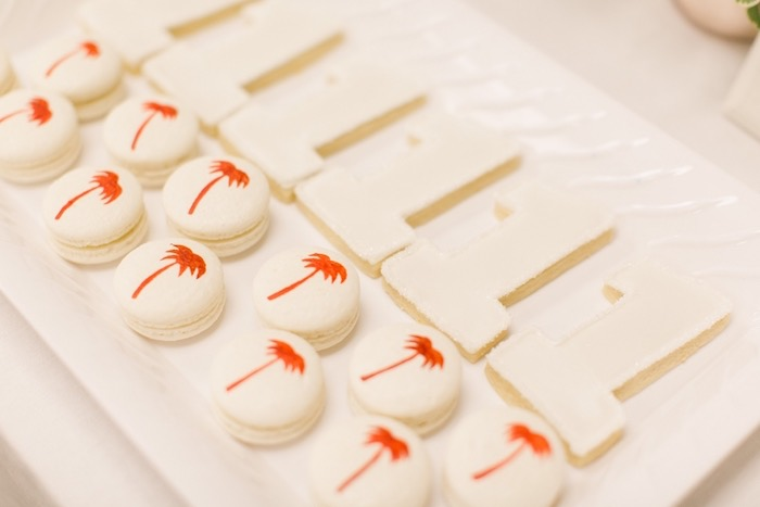 In N Out-inspired Macarons from an In N Out Inspired 1st Birthday Party on Kara's Party Ideas | KarasPartyIdeas.com (12)