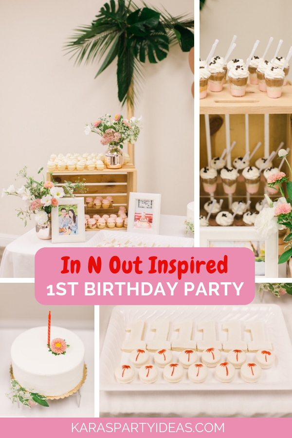 In and Out Inspired 1st Birthday Party via Kara's Party Ideas - KarasPartyIdeas.com