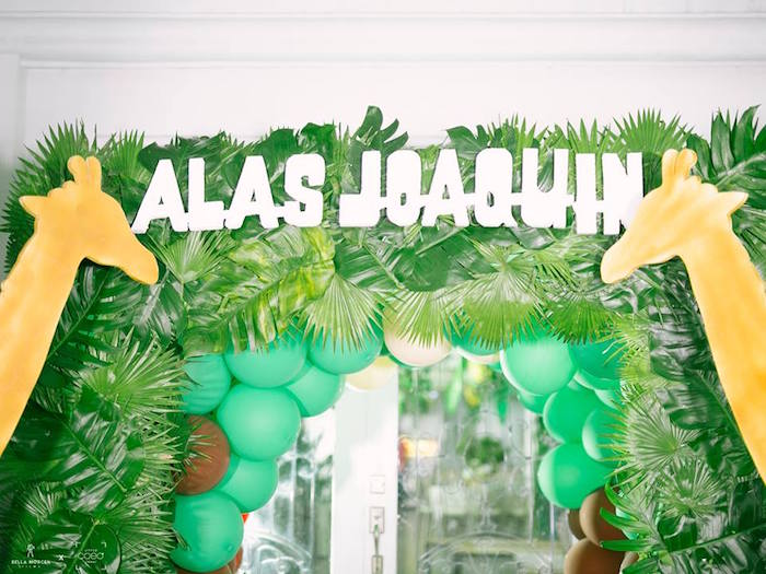 Jungle Safari Birthday Party on Kara's Party Ideas | KarasPartyIdeas.com (27)
