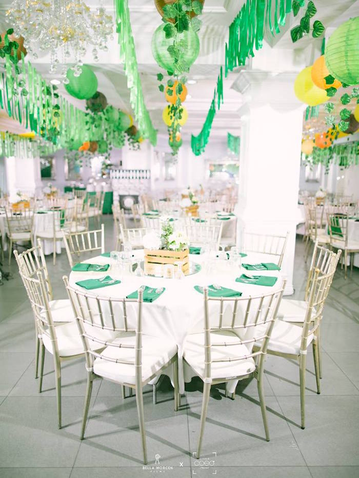 Jungle Guest Table from a Jungle Safari Birthday Party on Kara's Party Ideas | KarasPartyIdeas.com (24)