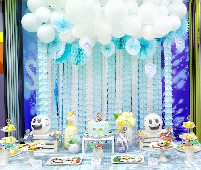 Mario Kart Birthday Party on Kara's Party Ideas | KarasPartyIdeas.com (28)