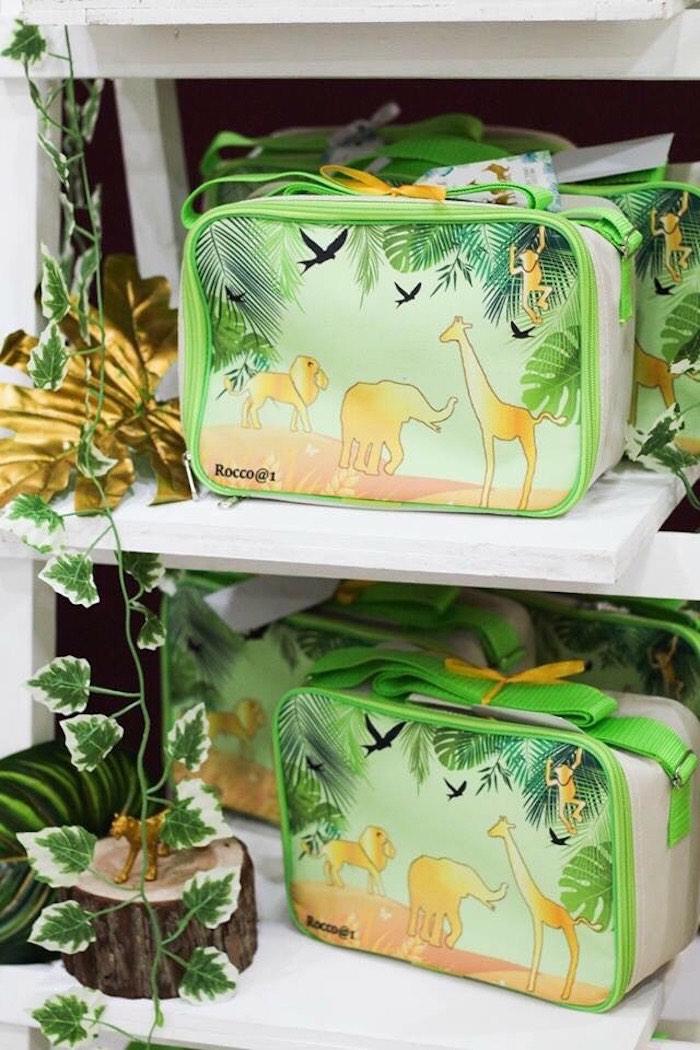 Safari Animal Lunch Box Favors from a Modern Rustic Safari Birthday Party on Kara's Party Ideas | KarasPartyIdeas.com (13)