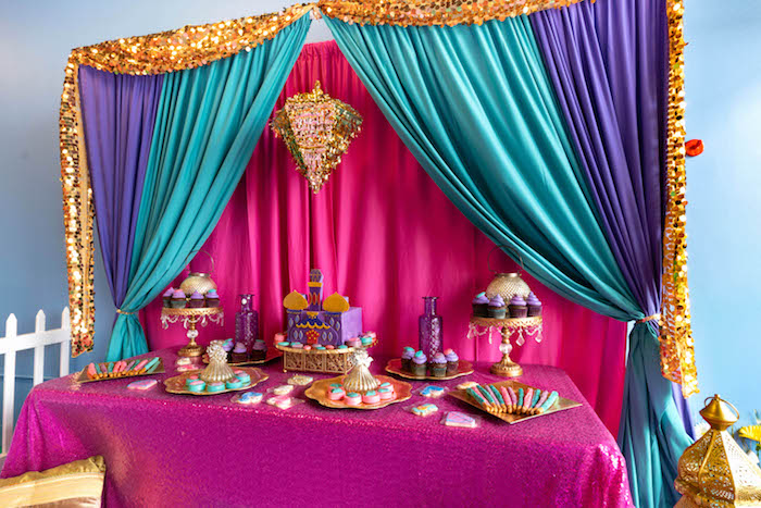Moroccan Genie Birthday Party on Kara's Party Ideas | KarasPartyIdeas.com (11)