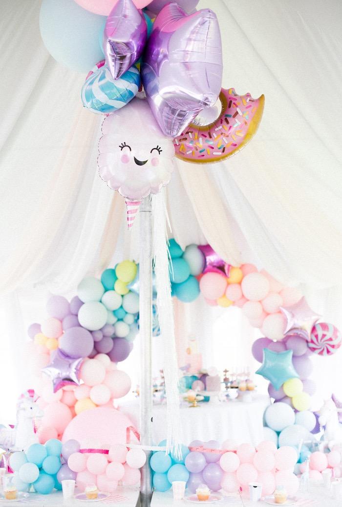Pastel Circus Animal Birthday Party on Kara's Party Ideas   KarasPartyIdeas.com (15)