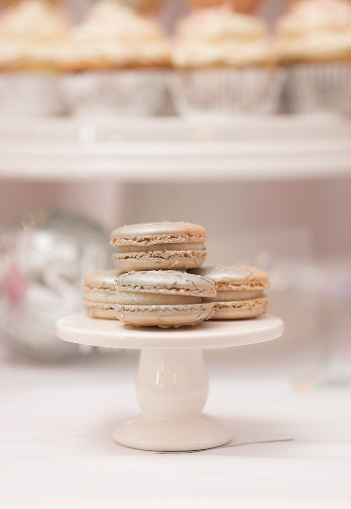 Macarons from a Pink Boho 2nd Birthday Party on Kara's Party Ideas | KarasPartyIdeas.com (18)