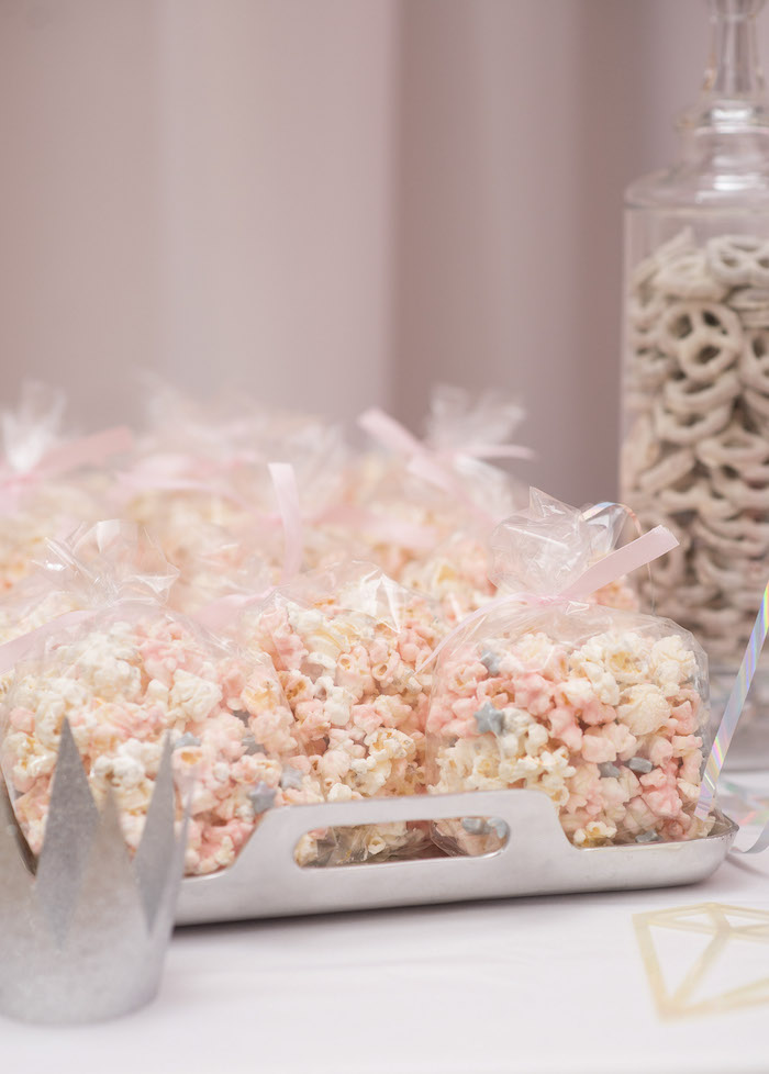 Pink Popcorn Bags from a Pink Boho 2nd Birthday Party on Kara's Party Ideas | KarasPartyIdeas.com (16)