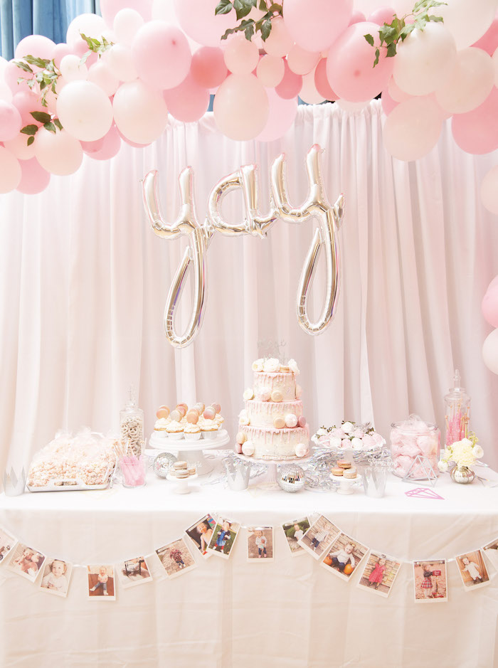 Pink Boho 2nd Birthday Party Table on Kara's Party Ideas | KarasPartyIdeas.com (24)