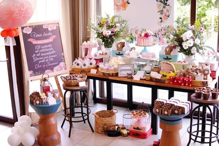 Rustic Chic Wedding on Kara's Party Ideas | KarasPartyIdeas.com (27)