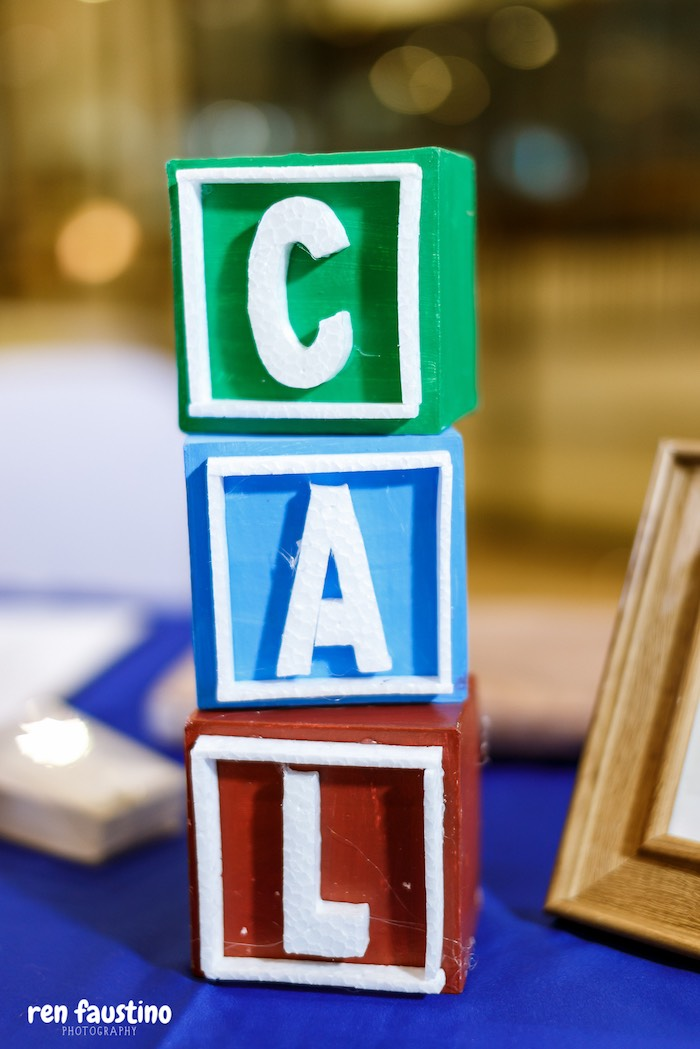 Block Letter Table Centerpiece from a Sesame Street Birthday Party on Kara's Party Ideas | KarasPartyIdeas.com (27)