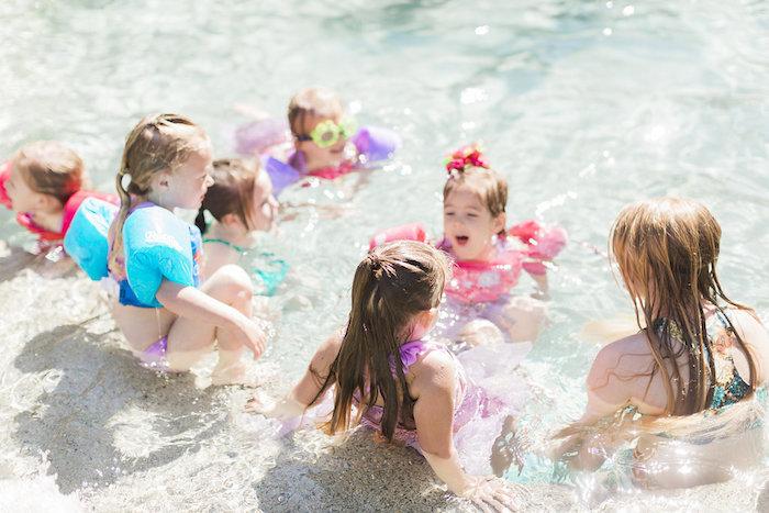 Shimmering Mermaid Birthday Party on Kara's Party Ideas | KarasPartyIdeas.com (5)