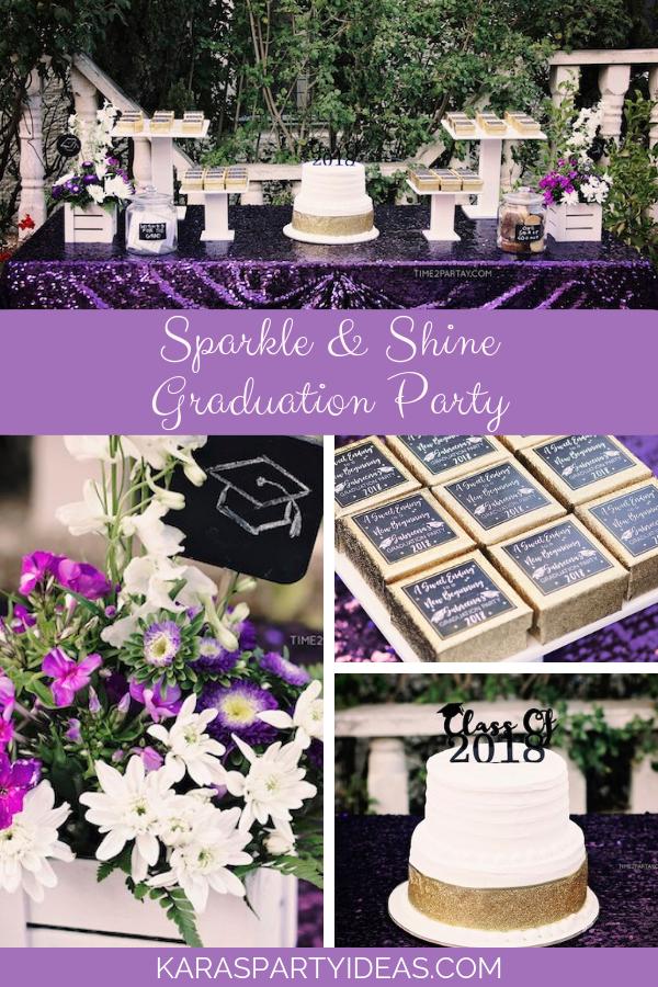 紫色科技感主题毕业派对