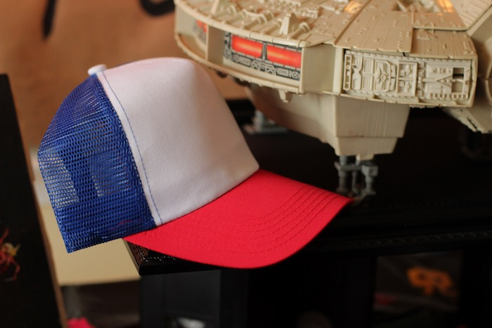 Dustin's Hat from a Stranger Things Halloween Party on Kara's Party Ideas | KarasPartyIdeas.com