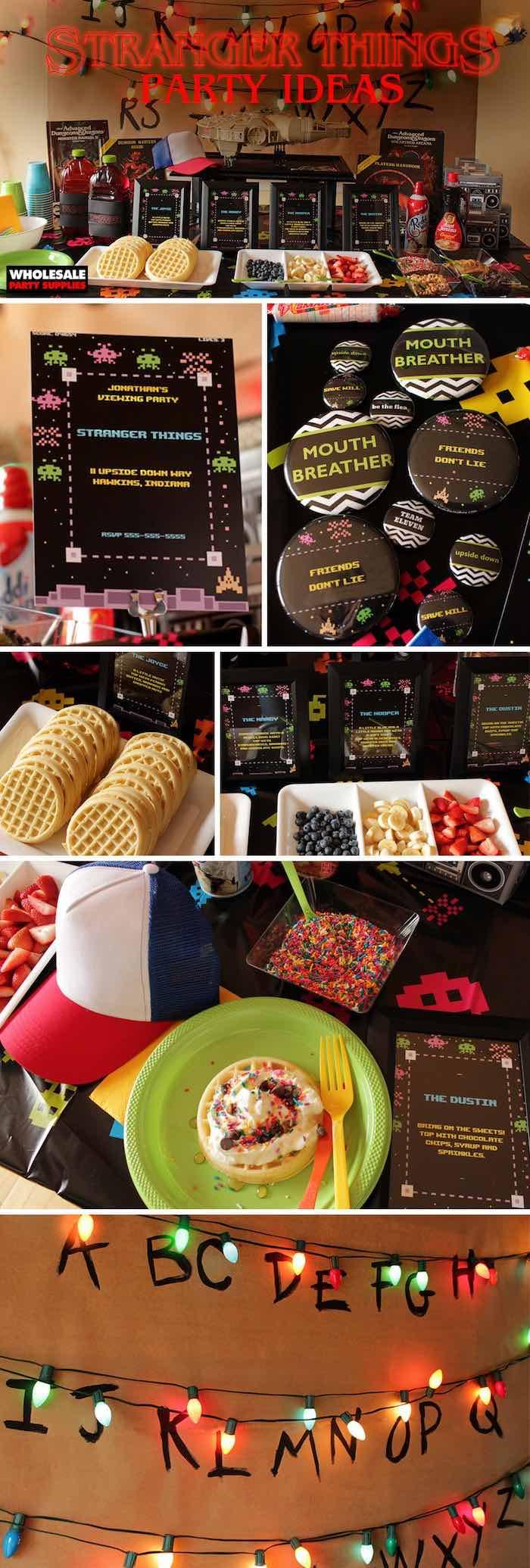 Stranger Things Halloween Party on Kara's Party Ideas | KarasPartyIdeas.com